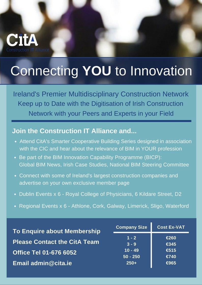 Connecting You To Innovation Membership Cita Cost Of Wiring A New House In Ireland About Business Actively Encourage The Irish Construction