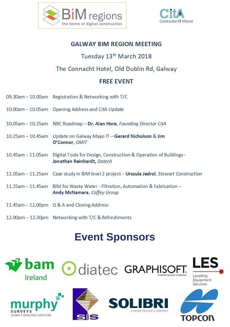 Galway BIM Region Event - Cita