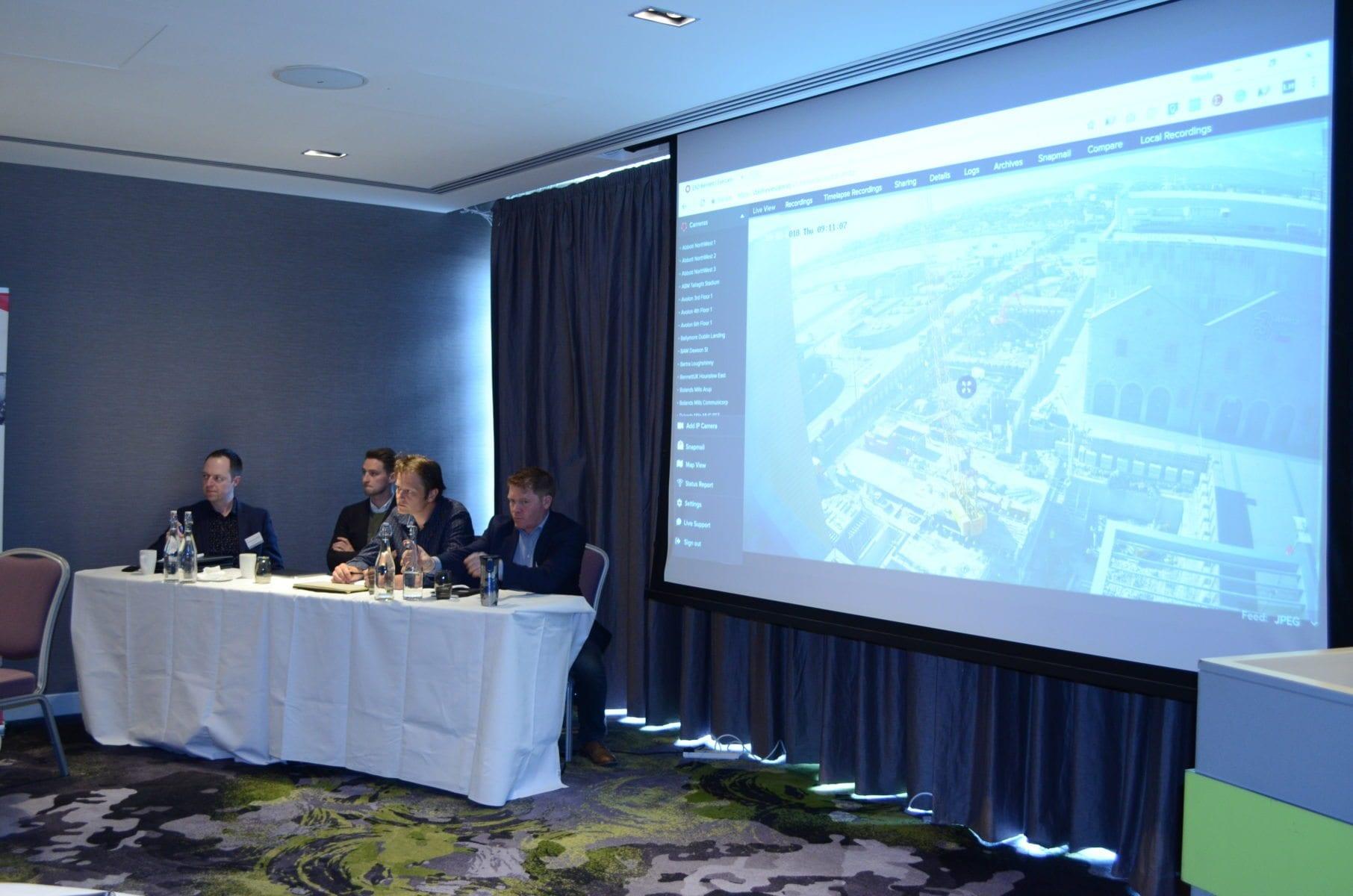 Panel: Michael Guerin, Caoimhin McGovern, Vinnie Quinn, Marco Herbst ...